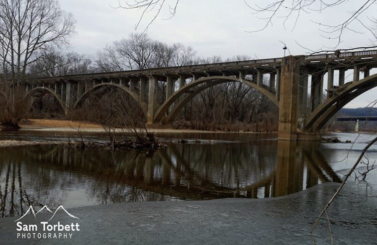 Y Bridge Winter